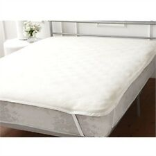 "Hollowfibre Quilted Mattress Topper for euro double 140 x 200 (55""x 78"") bed"