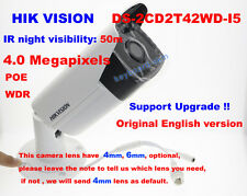 Hikvision English Version Ds-2Cd2T42Wd-I5 4Mp 1080 Poe Ip Network outdoor Camera