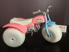 "Vtg 1970's Processed Plastic Co Pink ATV Mini 3 Wheeler Little Ms. 9"" ATC Honda"