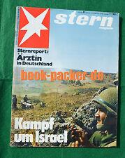 STERN 1973 Nr. 43: Kampf um Israel / Bamberg / Leben auf dem mars?