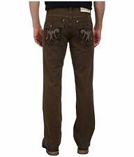 MEK DENIM  MERRITT Straight Cut Mens jeans flap pocket size 42x34 olive green