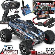 Traxxas 1/16 E-Revo VXL TSM 4WD RTR Brushless truck w/Battery & Charger ~SILVER~