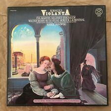 Korngold Violanta JANOWSKI EVA MARTON SIEGFRIED JERUSALEM CBS 2 LP NM ED1