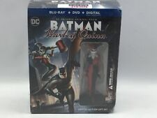 Batman & Harley Quinn (BLU-RAY) LIMITED EDITION GIFT SET With Novel! SEALED
