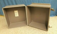 "Industrial Enclosure, Large, Sealed, Non-Metallic, 17"" x 15"" x 12.5"""