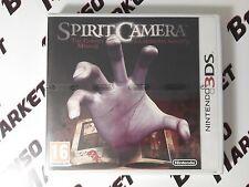 SPIRIT CAMERA THE CURSED MEMOIR LE MEMORIE MALEDETTE HORROR NINTENDO 3DS NUOVO