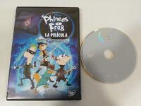 PHINEAS Y FERB LA PELICULA A TRAVES DE LA 2 DIMENSION DVD + EXTRAS WALT DISNEY