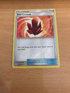 Pokemon Card Rev Holo Fire Crystal 173/214 Inc Free Card Deal