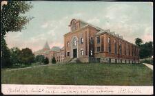 LOCK HAVEN PA State Normal School Gym Gymnasium Antique Postcard Vtg University
