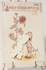 Holly Hobbie Appliques for Decoupage Craft Use #1 Vintage New