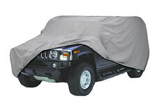 Hummer H3 with Spare Tire Custom Fit Car Cover