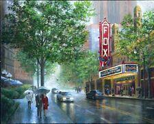 Atlanta Landmark: The Fox Theater Hand Embellished Giclee by Bobby Strickland