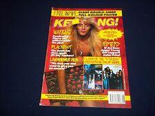 1990 NOVEMBER 17 KERRANG! MAGAZINE - WARRANT - MUSIC ISSUE - A 1707