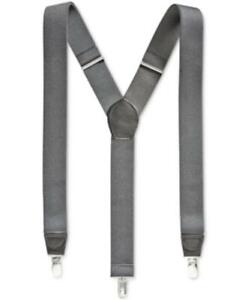 Club Room Men's Solid Suspenders (Cobalt, O/S)