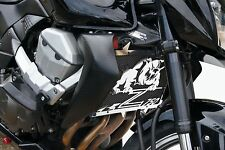"cache / Grille de radiateur Kawasaki Z750 2007>12 ""Bulldog"" + grillage noir"