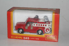 TOMY TOMICA DANDY #045 ISUZU TXD23F FIRE ENGINE, EXCELLENT, BOXED