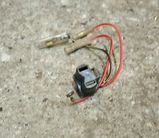1980 Kawasaki KE 100 KE100 enduro sub wire harness headlight wires plug