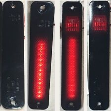FORD 73-79 PICK UP L.E.D. UPGRADE SMOKE side markers NEW SET OF 2 RED LED RARE