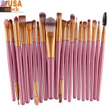 20 pcs/set  Wool Brush Makeup Set tools Make-up Toiletry Kit  Make Up Brush Set_