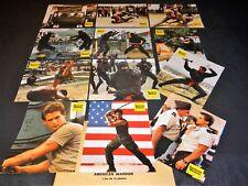 AMERICAN WARRIOR ! m dudikoff jeu photos cinema lobby cards karate ninja