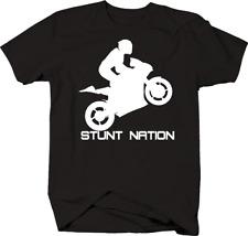 Stunt Nation Sport Bike Motorcycle T Shirt