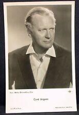 Curd Jürgens - Film Foto Autogramm-AK (j-8853