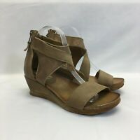 Miz Mooz Leather Demi Wedges - Molly, Dust, EU Size 38 (US Size 7.5-8) A375965