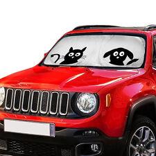 Folding Jumbo Cartoon Car Auto Front Windshield Sun Shade Sun Visor Block Cover