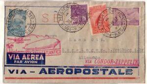 Brazil - 1932 Cover flown by Graf Zeppelin to Gernany