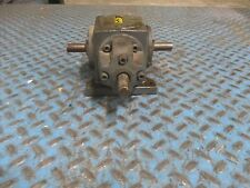 Boston Gear Spiral Bevel Gearbox R137-BMI 9.262Hp In 318 In-Lb Torque Out Used