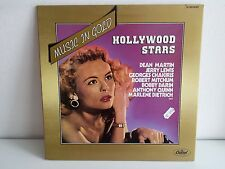 Music in gold Hollywood stars  DEAN MARTIN / JERRY LEWIS / DIETRICH  2S068 85397