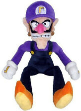 "Super Mario Bros.Waluigi Bad Guy Plush Toy Stuffed Figure Doll Gift 11""  US SELL"
