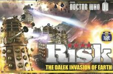 DOCTOR WHO THE DALEK INVASION OF EARTH RISK BOARD GAME NEW TOP TRUMPS EDITION