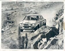 1970 Auto Racing World Cup Competition Mikkola and Palm Ford Escort Press Photo