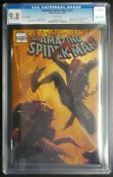 Amazing Spider-Man #573 Marvel Comics CGC 9.8 White Pages Zombie Variant