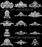 3D Model STL for CNC Router Engraver Carving Artcam Aspire Collection Decor v504