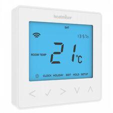 Heatmiser NeoStat Programmable Room Thermostat in Glacier White 230V