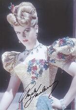 ANGELA LANSBURY Signed 12x8 Photo DORIAN GRAY & MURDER SHE WROTE COA