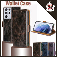 For Samsung Galaxy S21 Ultra S21+ 5G Flip Case Shockproof Leather Wallet Cover