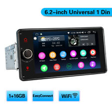 JOYING Newest 6.2 Inch Single Din Android Head Unit with Fastboot for Universal