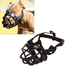 Silicone No-Bite Bulldog Pit Bull Mouth Cover Strong Muzzles Basket for Pet Dog