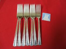 (7) Holmes & Edwards Silverplate Dinner Forks, 1951 May Queen  #14