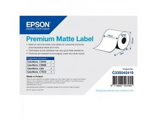 Epson Rollo de etiquetas c33s045418 papel normal 76mm x 35m PREMIUM Mate
