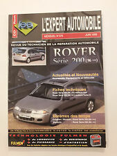 RTA ROVER série 200 à partir de 96 revue technique expert automobile état neuf