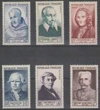 Frankrijk postfris 1953 MNH 965-970 - Persoonlijkheden