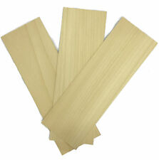 Obeche Wood Panels 150mm x 450mm x 1.5mm - Pack of 3 Sheets OBE6X3