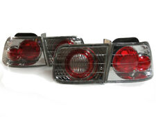 *Altezza Chrome Euro Clear Tail Lights Rear Lamp For 96-00 Honda Civic 2DR Coupe