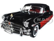 1952 HUDSON HORNET CONVERTIBLE BLACK/RED 1/18 DIECAST MODEL BY ACME A1807501