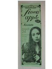 Fiona Apple concert poster handbill Morcheeba