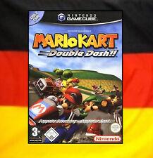 ## Mario Kart Double Dash + Speicherkarte mit allen Extras & Strecken GameCube #